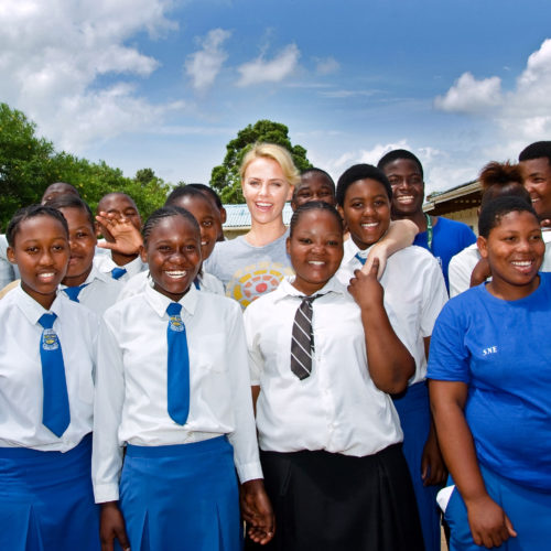 Charlize Theron Africa Outreach Programme