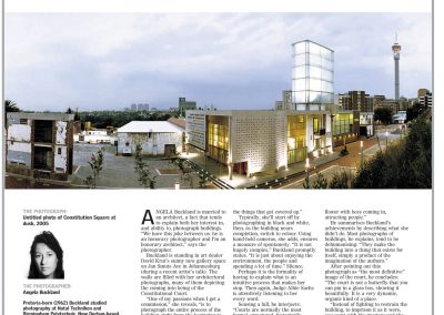 Light on a Hill – Sunday Times, 2007